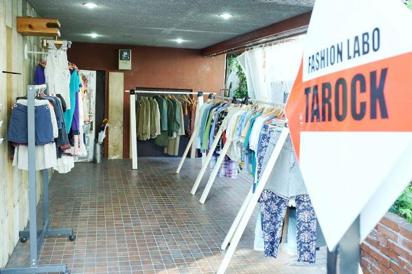 東京・原宿の古着屋 Tarock with Ricco(タロック ウィズ リッコ)自由な雰囲気の服屋らしい服屋