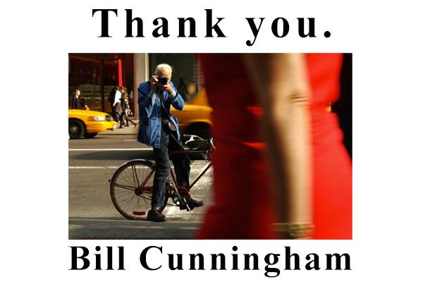 ニューヨークのファッションフォトグラファー(Bill Cunningham(ビル・カニンガム)