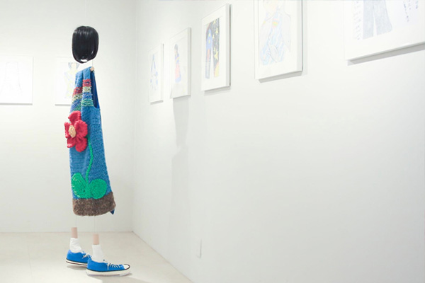 RYOTA MURAKAMI presents「村上千明の絵画展」阿佐ヶ谷 TAV GALLERYで開催中