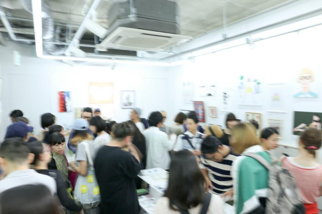 イラストレーター50名によるグループ展「IN MY MODE」at 表参道ROCKET