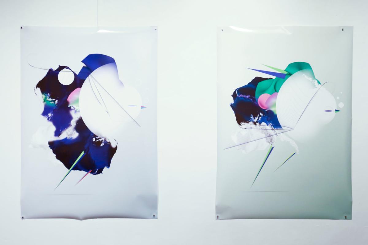 グラフィックアーティスト CALVIN HO(カルヴィン・ホー) 個展「MEMORIES」