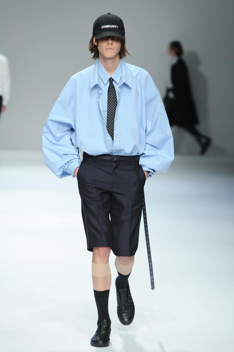 「dressedundressed(ドレスドアンドレスド)」の2017年春夏コレクション。テーマは「community」。