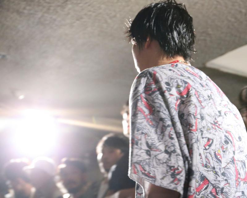 KIDILL(キディル)の2017年春夏コレクション。テーマは「sad paradise」。