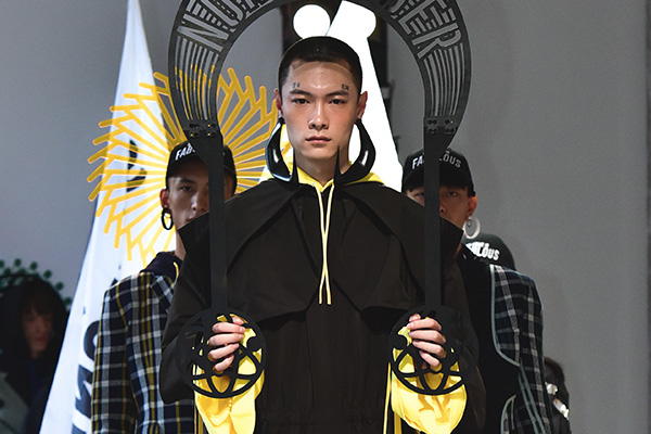 中国で注目の若手デザイナーを紹介 「STAFFONLY(スタッフオンリー)」2017年春夏のテーマは「non.member」。