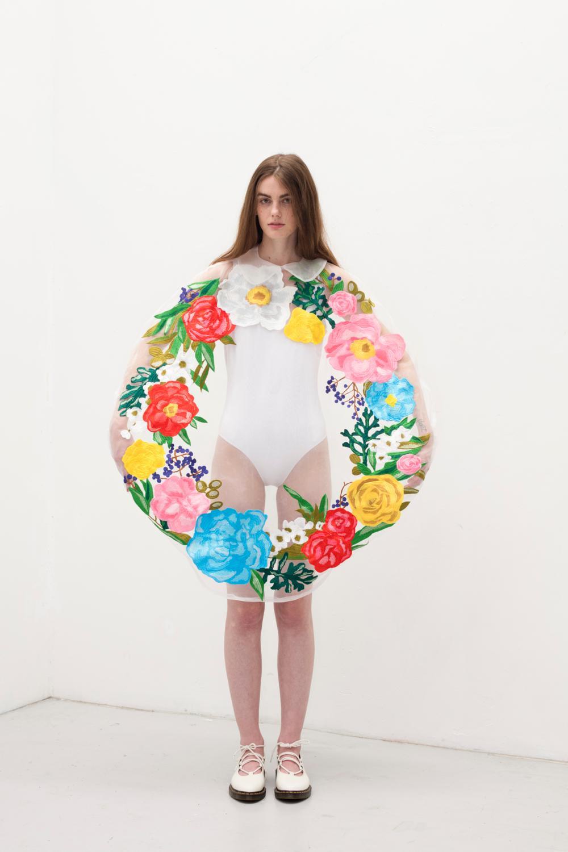 writtenafterwards(リトゥンアフターワーズ)の、2017年春夏コレクション「flowers」
