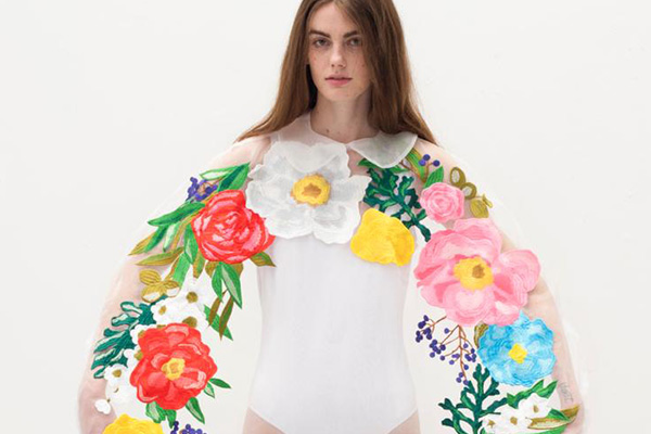 writtenafterwards(リトゥンアフターワーズ)2017年春夏コレクション「flowers」