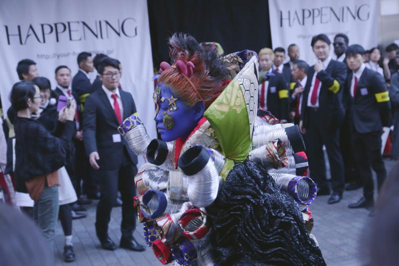 The HAPPENING Vol.6 渋谷センター街でゲリラファッションショー