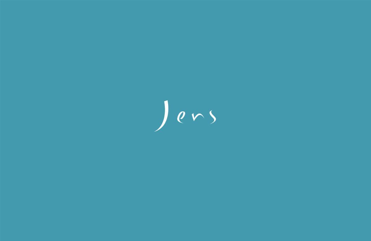 Jens(イェンス)2016-17年秋冬コレクション。テーマは、「HYPERINGBLUE」。