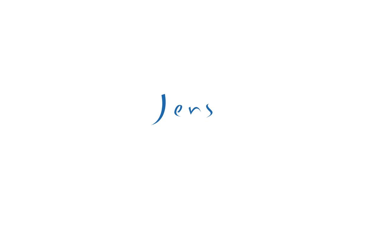Jens(イェンス)2017年春夏コレクション。テーマは「ウルトラマリン」。