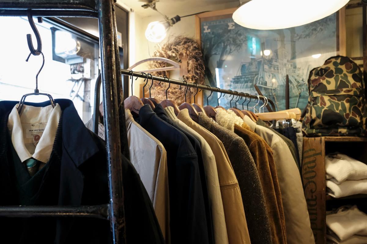 高円寺・古着屋 GRANDBERRY JAM(グランベリージャム)今のスタイルに合うオーセンティッック