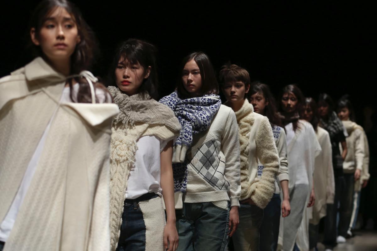 Motohiro Tanji(モトヒロタンジ)2017-18年秋冬 コレクション