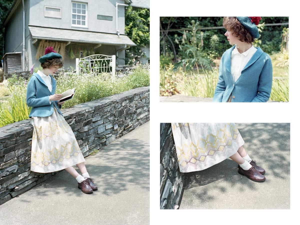 STATICE(スターチス)の2016-17年秋冬コレクション。テーマは「Beatrix Potter」。