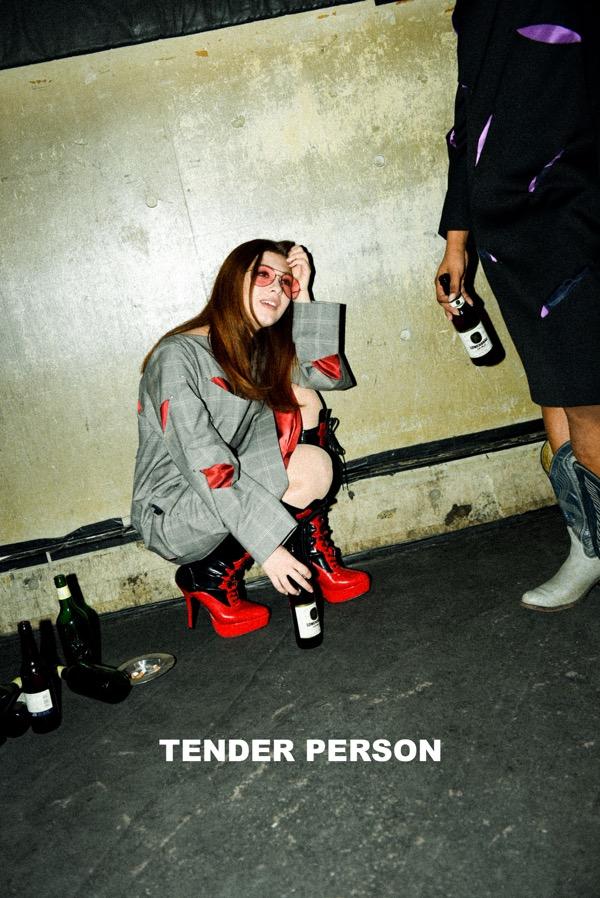 TENDER PERSON (テンダーパーソン)2017-18年秋冬 コレクション