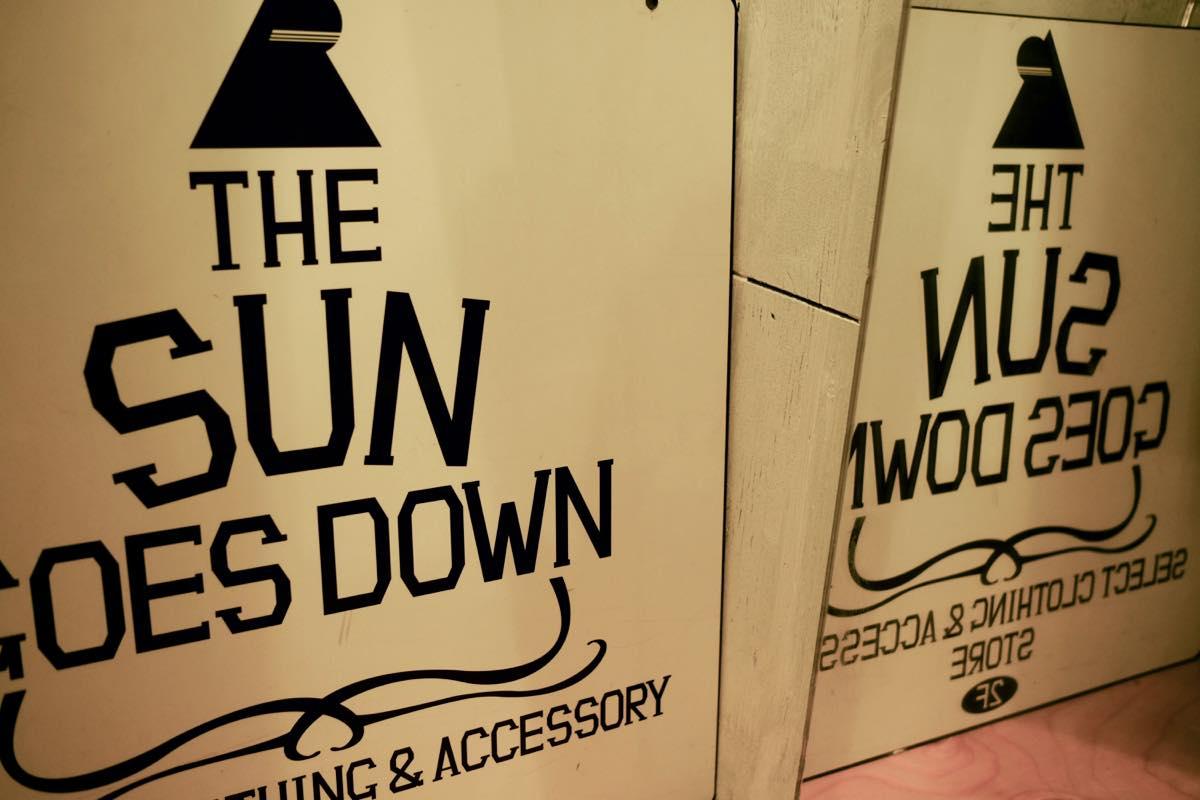 渋谷・古着屋 THE SUN GOES DOWN(サンゴーズダウン),