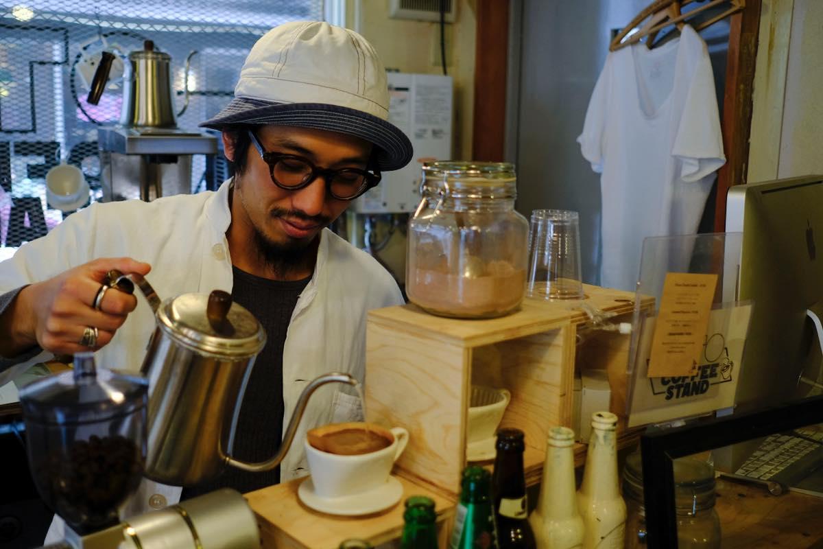 下北沢・古着屋 THE SUN GOES DOWN(サンゴーズダウン),OTO COFFEE STAND(オトコーヒースタンド)