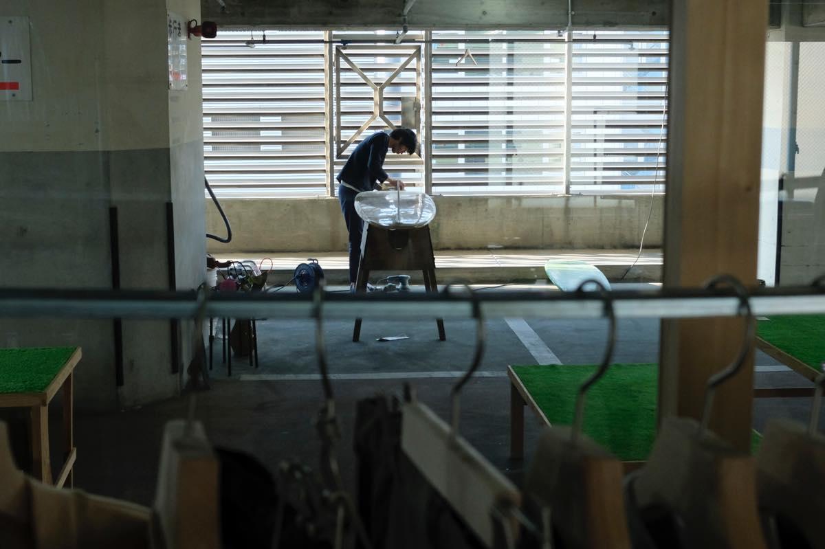 静岡県・浜松市、万年橋パークビル CUBESCAPE(キューブスケープ)backwardlab(バックワードラボ)