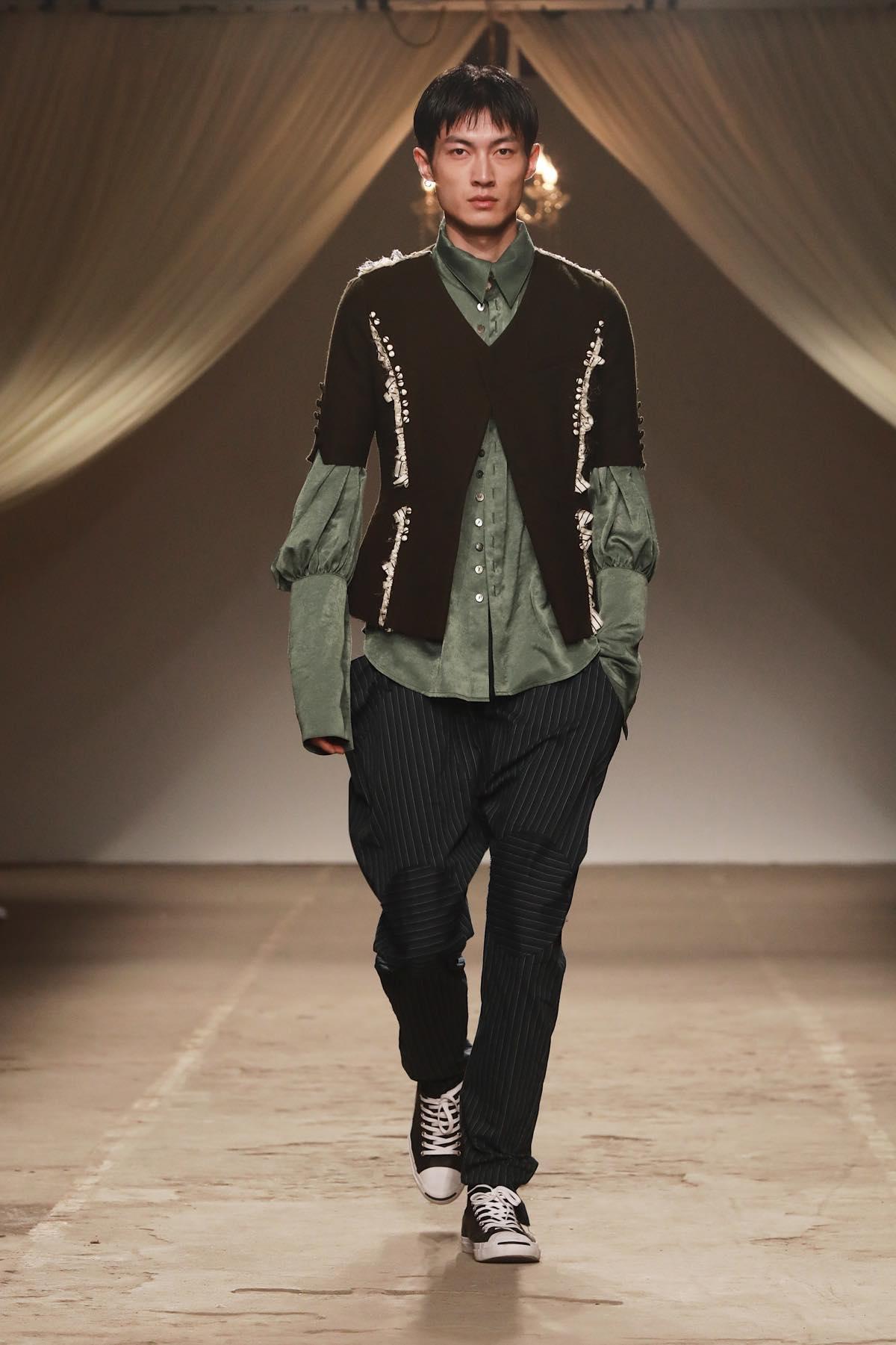中国で注目の若手デザイナー 「JUNWEI LIN(ジュンウェイ リン)」の2017年秋冬コレクション