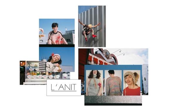 L'ANIT「ファンシー&ファンキーなニットでハッピーを」ラニットの温もりを届けるニットプロジェクト!