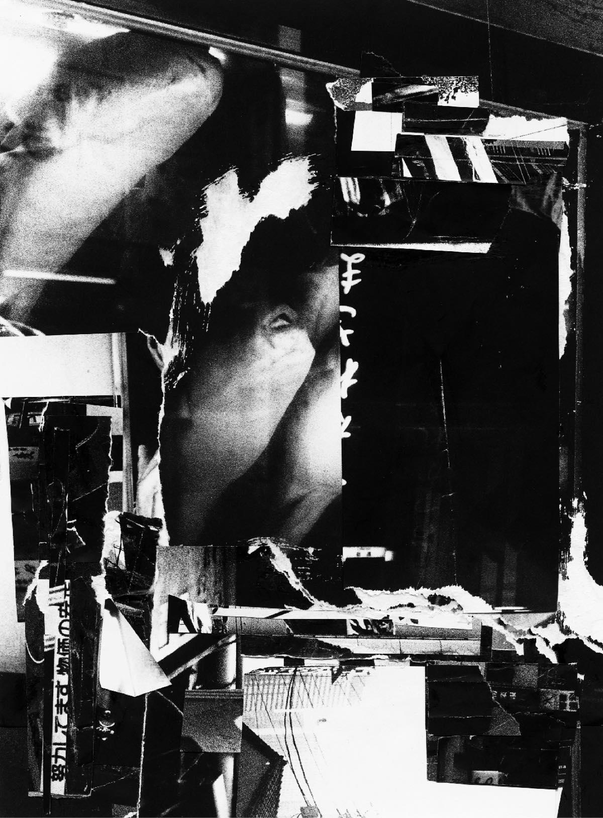 吉田昌平 展覧会「Shinjuku(Collage)」森山大道の写真集「新宿」をコラージュ