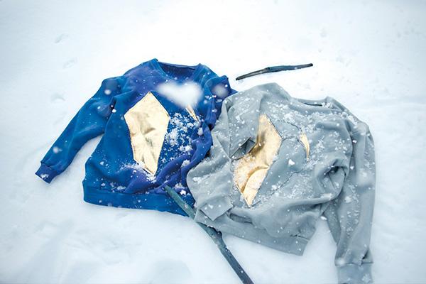 ・(テン)の2017-18年秋冬コレクション。テーマは「砕光」。