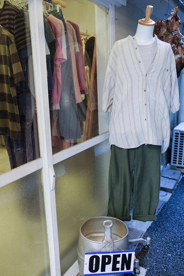 東京・高円寺の古着屋 NoTE(ノート)路地裏でこっそりと宝探しを