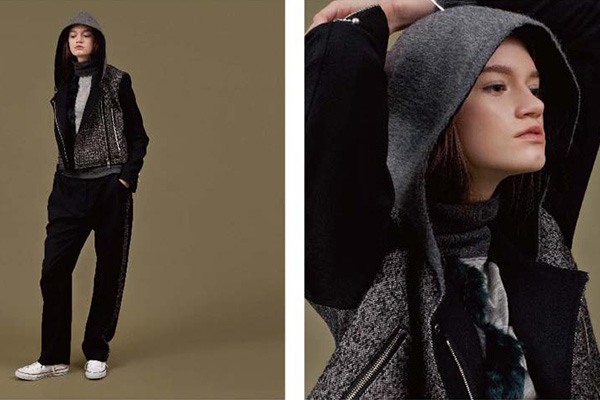 l'A.S(ラス)の2016-17年秋冬 コレクション。デザイナーは猿橋 歩美(Ayumi Saruhashi)。