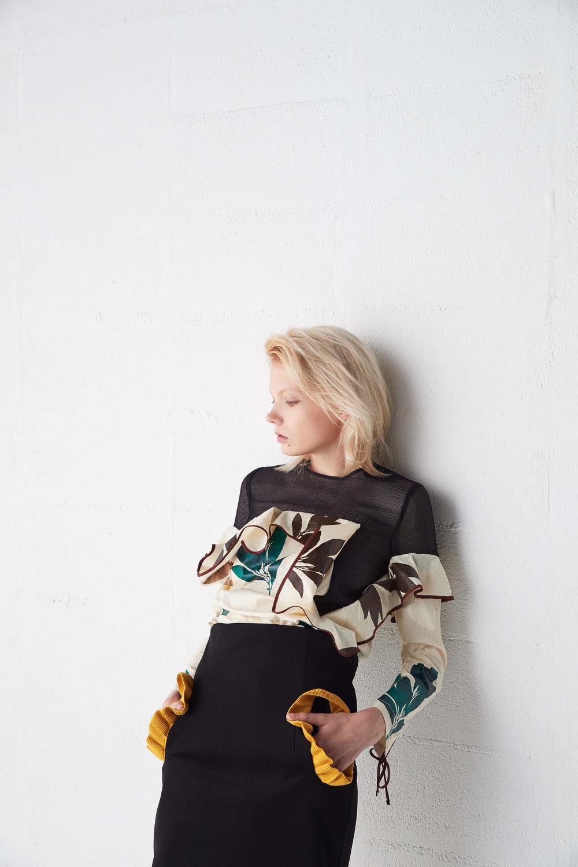 NAIFE(ナイフ)の2017年春夏 コレクション。テーマは「The packed laurel」。デザイナーは梶永真治。