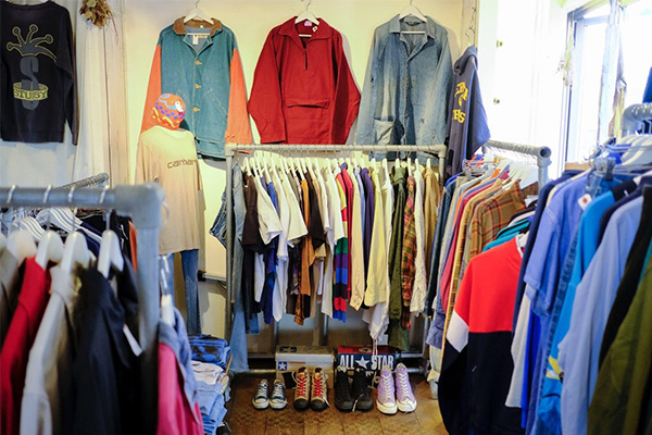 東京・下北沢の古着屋 ruruLi(ルルリ)落ち着いた雰囲気で楽しむ洋服談義