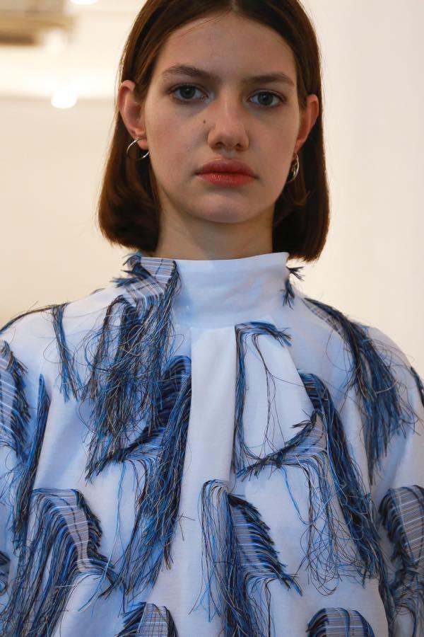 LAMARCK(ラマルク)の2018年春夏コレクション。デザイナーは森下 慎介。