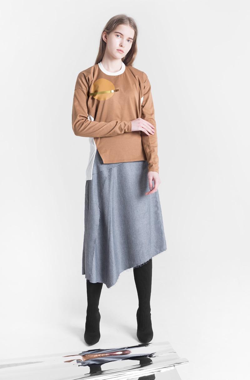 tactor(タクター)の2018-19年秋冬 コレクション。テーマは「MOIETY」。デザイナーは山本奈由子。