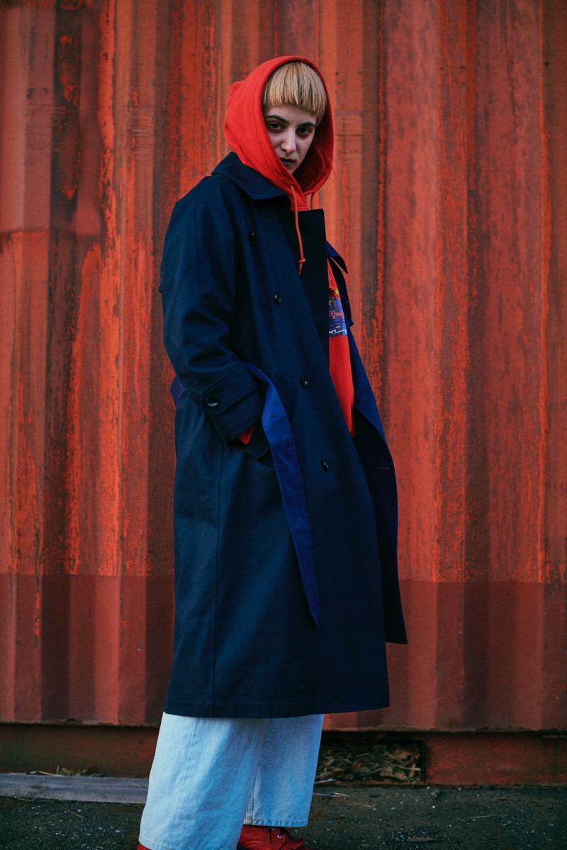 Metaphor...(メタファー)の2018-19年秋冬 コレクション。デザイナーは深津研人。
