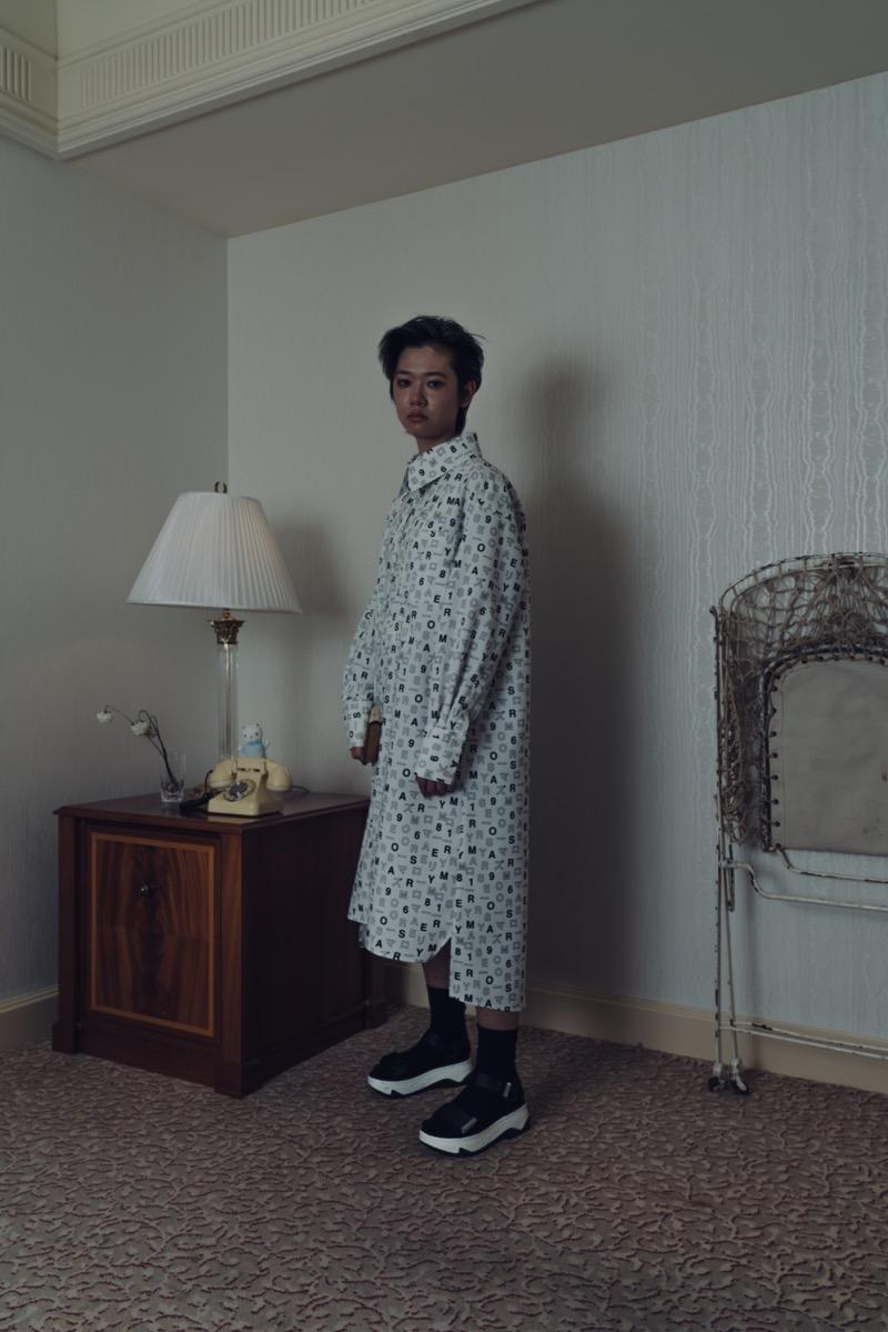 YUMIGETA(ユミゲタ)の2018-19年秋冬 コレクション。テーマは「GIFT」。デザイナーは弓桁一倖。