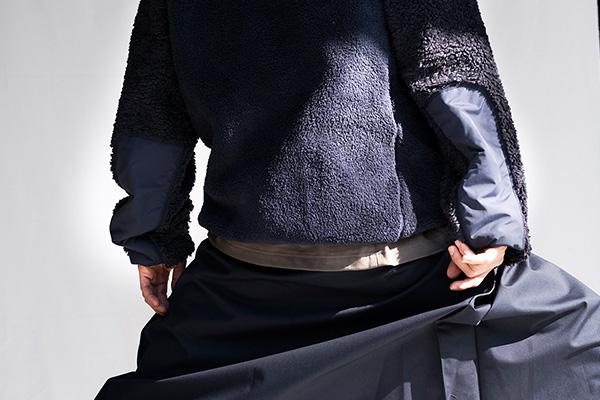 meanswhile(ミーンズワイル)の2018-19年秋冬コレクション。オ