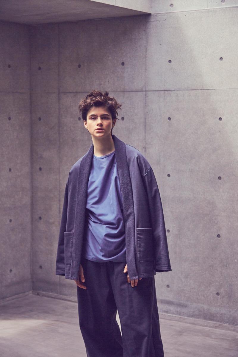 Blanc YM (ブラン ワイエム)2019年春夏 コレクション。デザイナーは、宮内裕太郎。