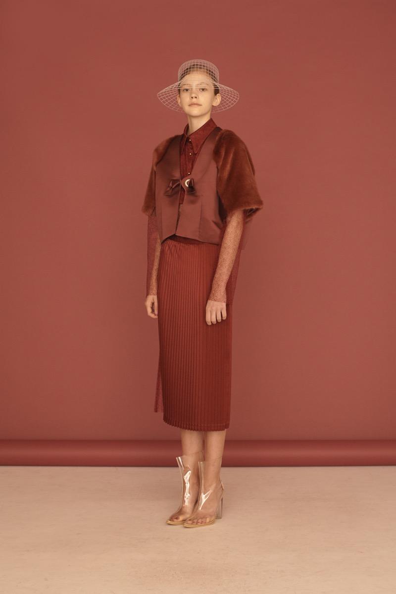 Donnah Mabel(ドナ メイベル)の2019年春夏 コレクション。デザイナーはMIYUKI KITAHARA。