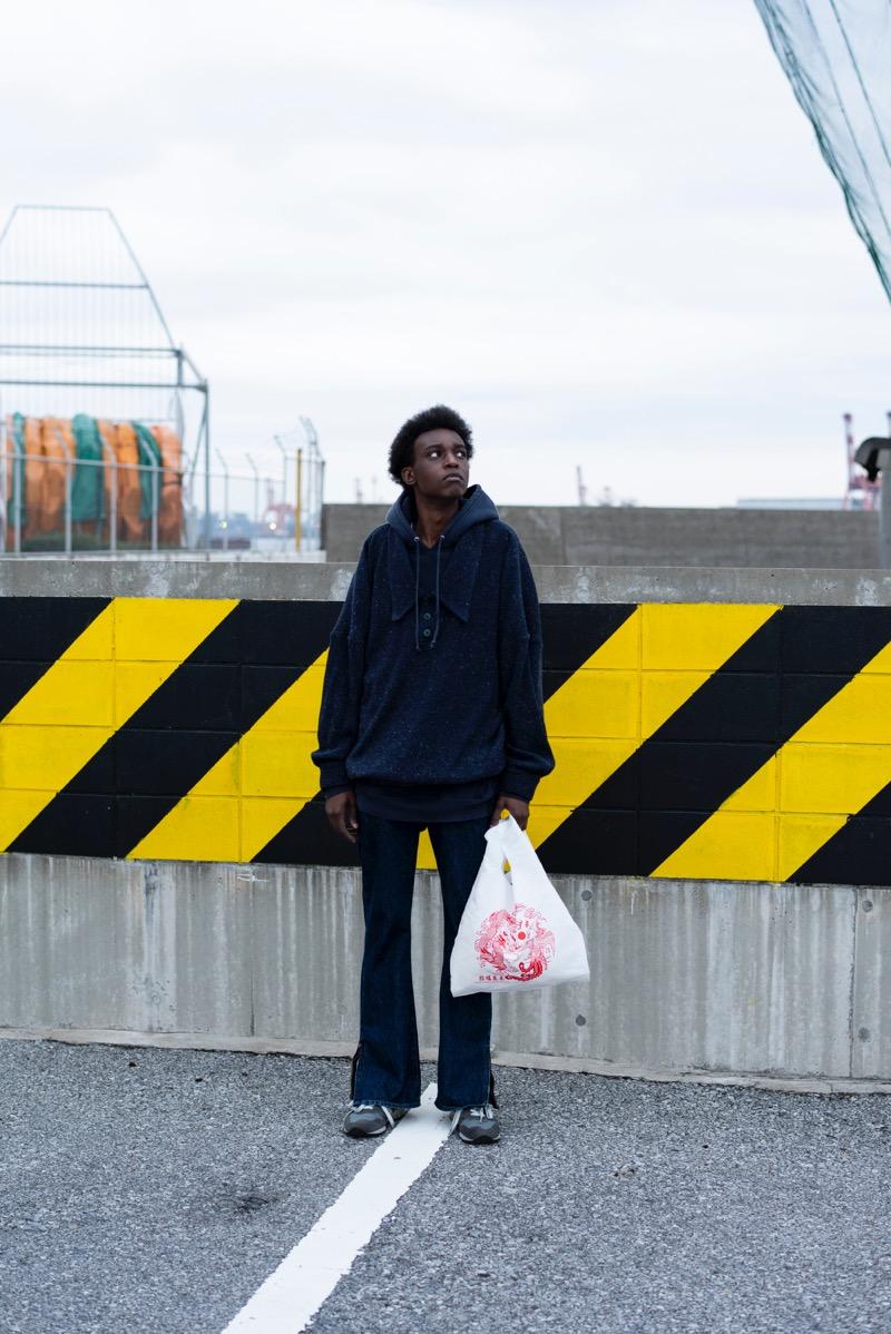 RICE NINE TEN (ライス ナイン テン)の2019-20年秋冬コレクション。テーマは「- The Suburbs -」。