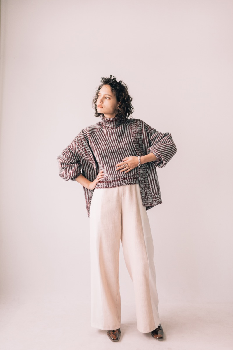 Create Clair(クリエイトクレイル)の2019-20年秋冬 コレクション 。ブランドコンセプトは「日々の生活の中に輝きを創造する」。