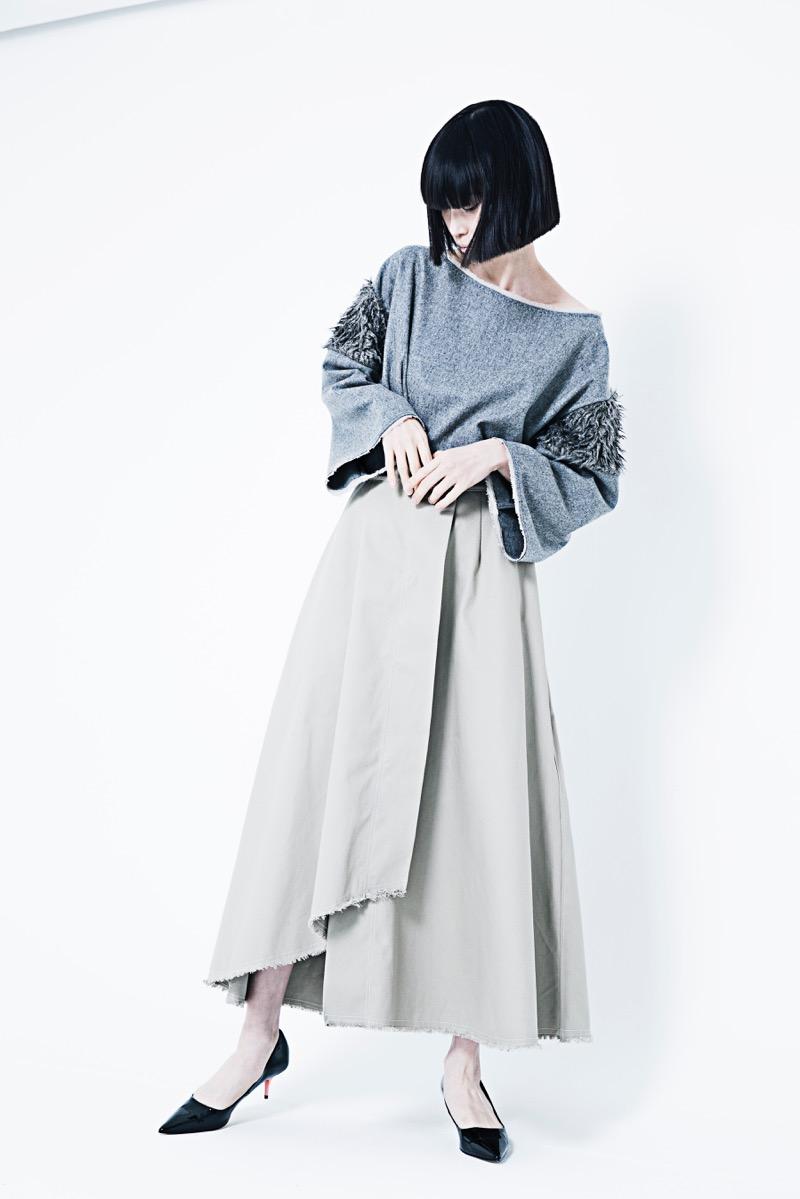 Kanashi(カナシ)2019-20年秋冬コレクション。デザイナーは長瀬愛。