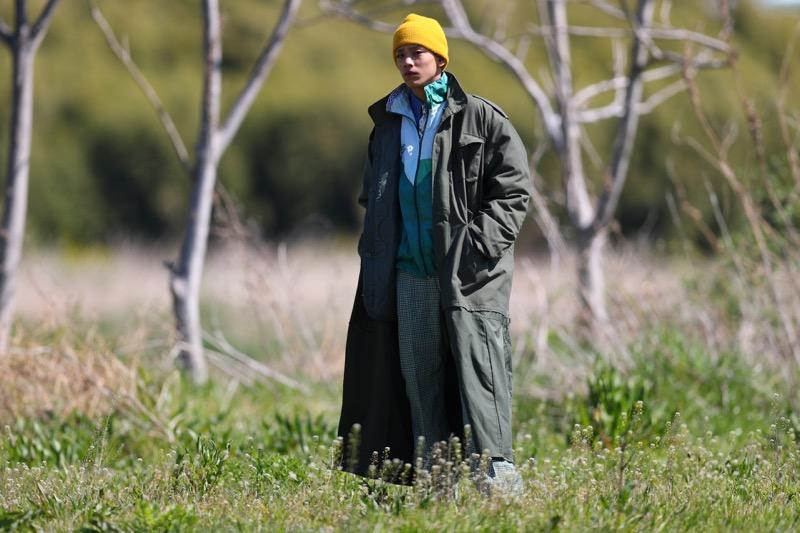 リメイクブランドAWESOMEBOY(オーサムボーイ)の2019-20年秋冬コレクション。ブランドは、90年代〜、HIPHOP、ストリートカルチャーをミックスして提案する原宿の古着屋「AWESOMEBOY(オーサムボーイ)」のオリジナルライン。