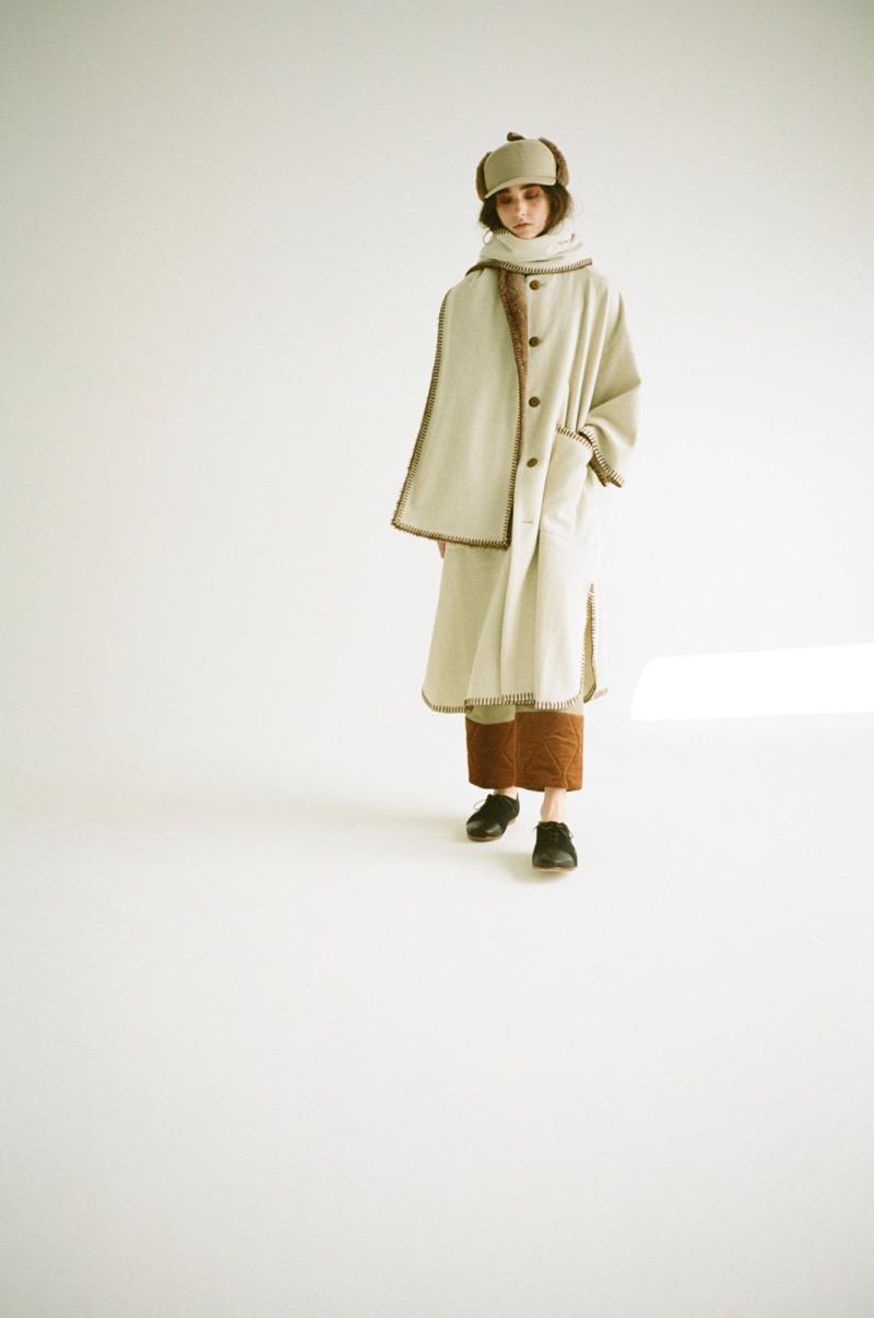 rikolekt(リコレクト)の2019-20年秋冬コレクション。テーマは「driftin'」。