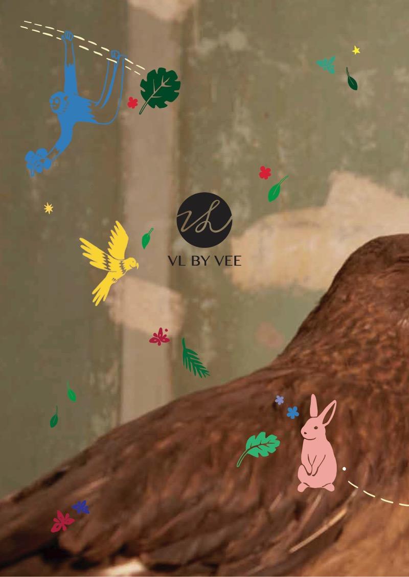VL by VEE (ヴィーエル・バイ・ウィー)の2019-20年秋冬コレクション。テーマは「Magic Wild Kingdom」。