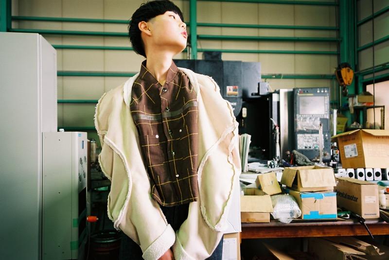 絵を描いて服を造るをコンセプトにする「odd_ (オッド)」の2019-20年秋冬 コレクション「006-19」。