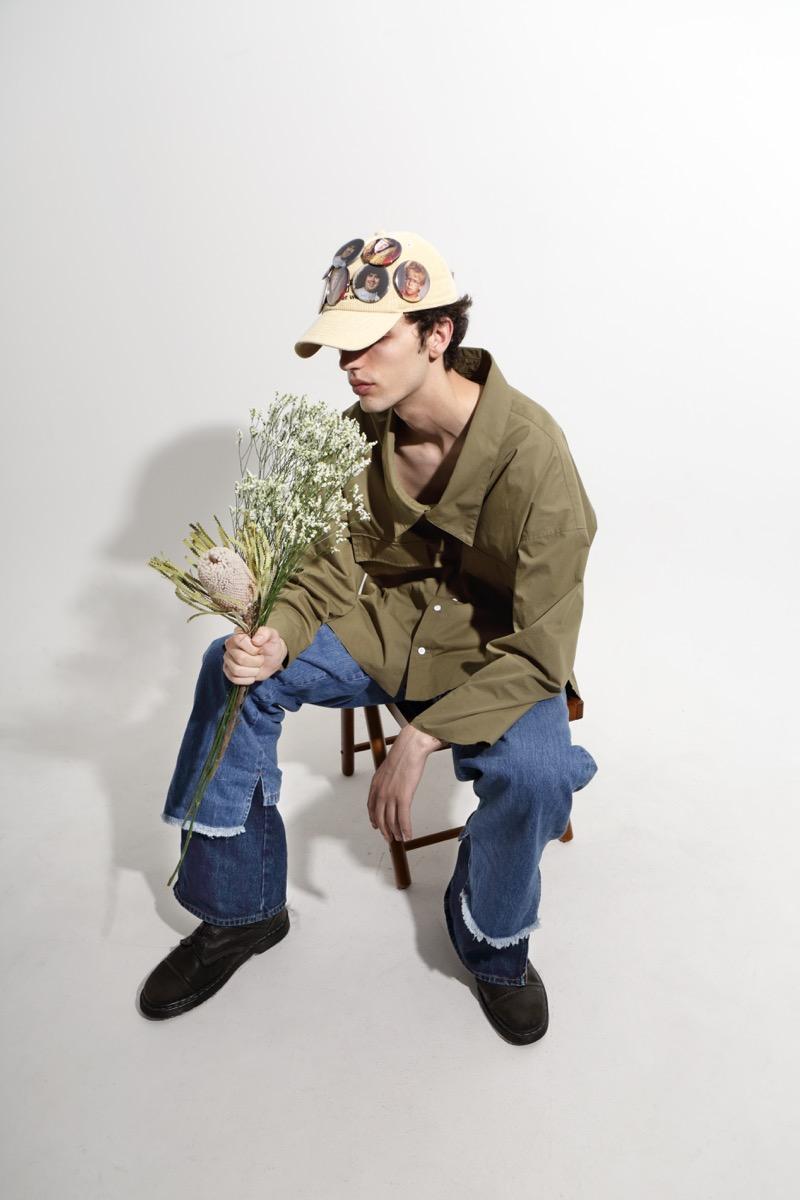 RICE NINE TEN (ライス ナイン テン)2020年春夏コレクション。 テーマを「- ALMOST -」に、階級社会の中で夢を追う様々な「グレートブリテンの青年」をイメージしたコレクション。