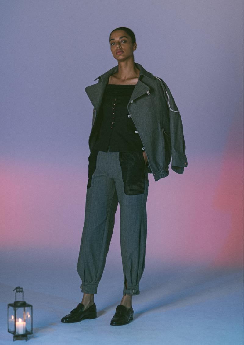 SUÉSADA(スエサダ)2020年春夏コレクション。デザイナーは末定亮佑。