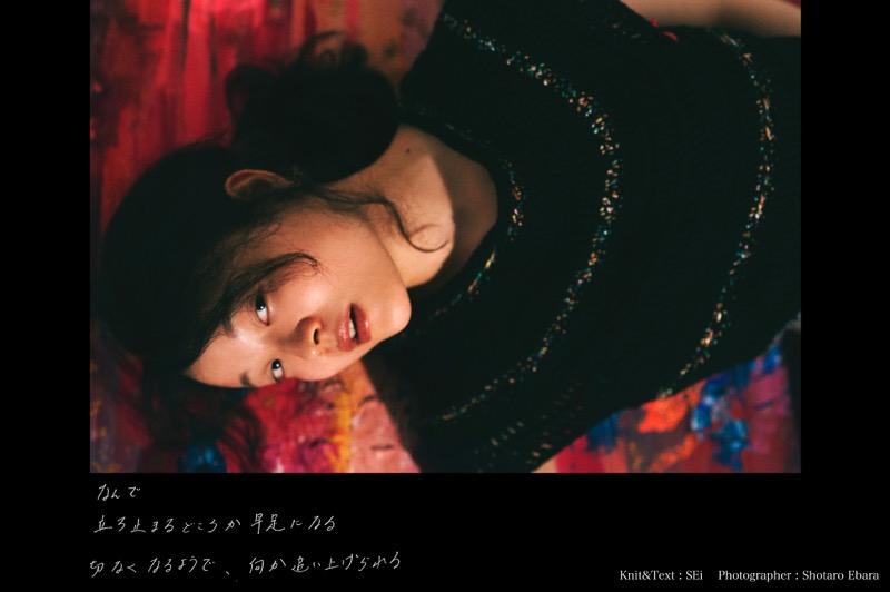 "Da Capo ""F#"" Knit artist SEi & Photographer Ebara Shotaro"