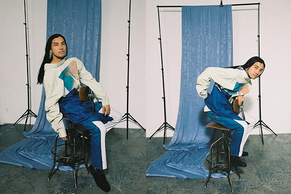 YEAH RIGHT!!(イエーライト)の2020-21年秋冬コレクション。テーマは「RE:CALM」。