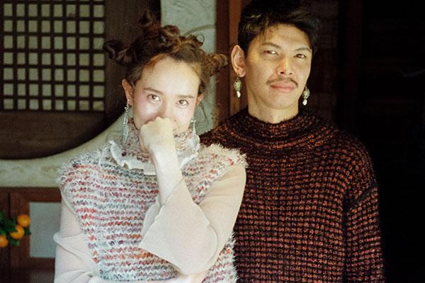 L'ANIT(ラニット)の2020-21年秋冬コレクション。テーマは「東洋的浪漫」。